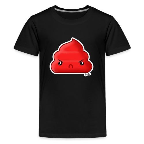 Cacca Rossa - Maglietta Premium per ragazzi
