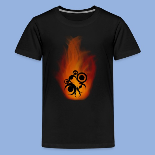 Should I stay or should I go Fire - T-shirt Premium Ado