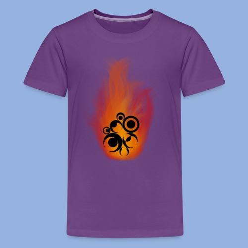 Should I stay or should I go Fire - T-shirt Premium Ado