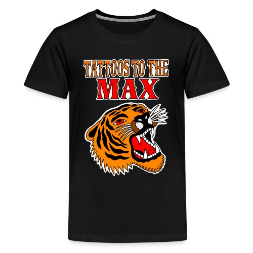 Tattoos to the Max - Tiger - Teenager Premium T-Shirt