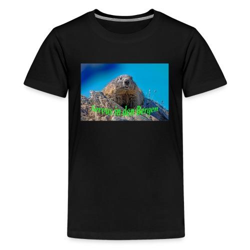 Servus in den Bergen - Teenager Premium T-Shirt