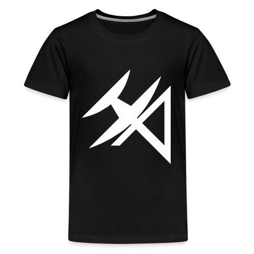 logo HA BLANCO - Teenage Premium T-Shirt