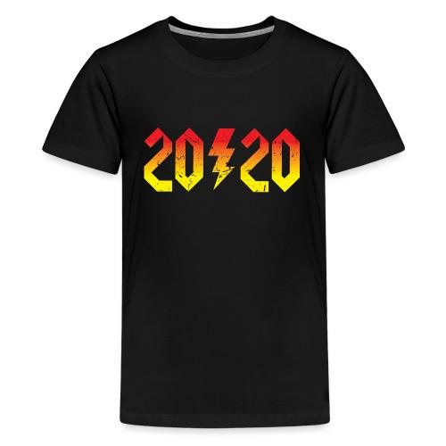 2020 rockiges Jahr - Teenager Premium T-Shirt