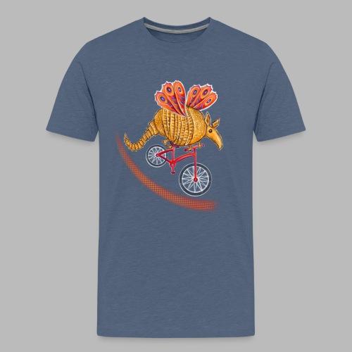 Flying Armadillo - Teenage Premium T-Shirt