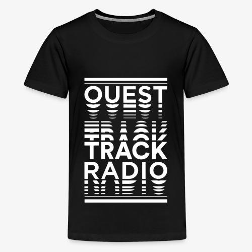 Logo Vertical Grand Blanc - T-shirt Premium Ado
