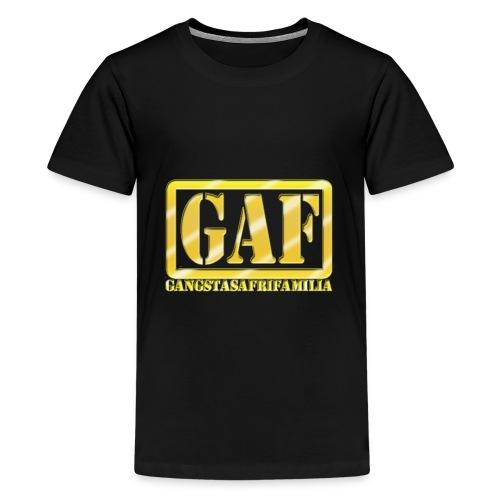GAF - Camiseta premium adolescente