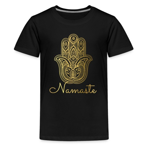 Namaste Meditation Yoga Sport Fashion - Teenager Premium T-Shirt