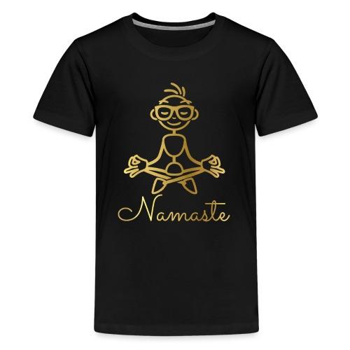 Namaste - Teenage Premium T-Shirt