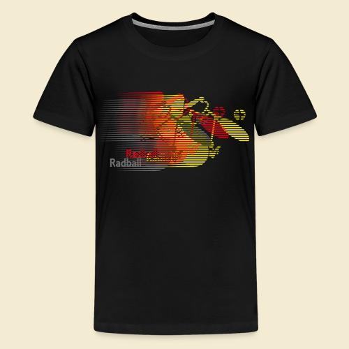 Radball | Earthquake Germany - Teenager Premium T-Shirt