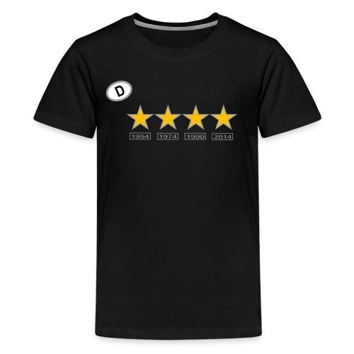 Fußball WM 2 - Teenager Premium T-Shirt