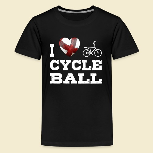 Radball | I Love Cycle Ball - Teenager Premium T-Shirt