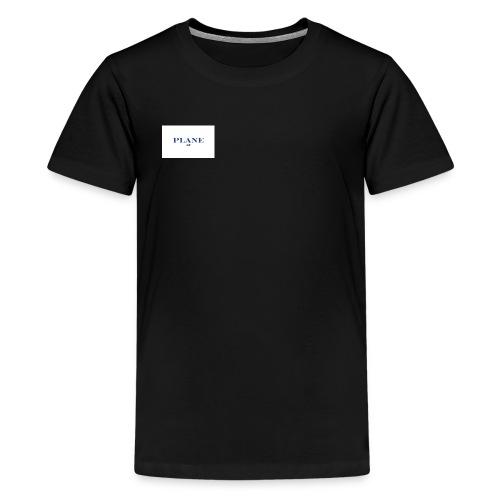 Plane 2o18 - Premium T-skjorte for tenåringer