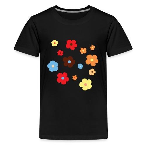 bloemmetjes - Teenager Premium T-shirt