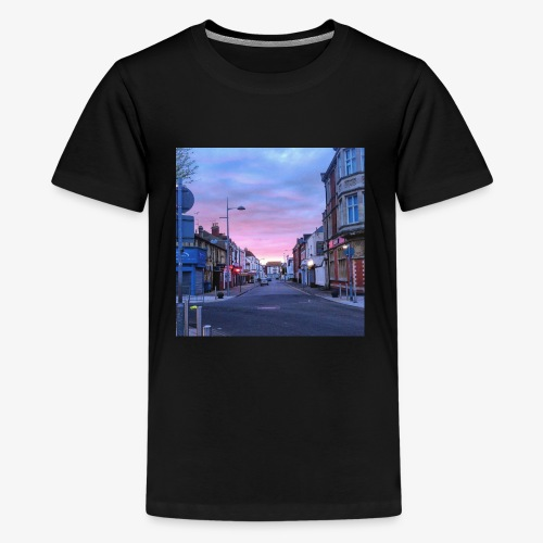 Clacton Sunrise - Teenage Premium T-Shirt