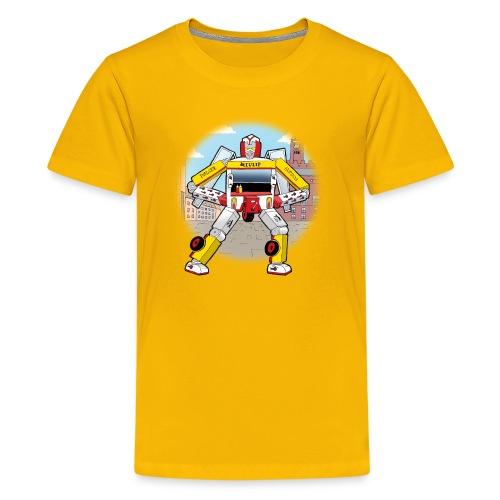 Pølsevogn transformer - Teenager premium T-shirt