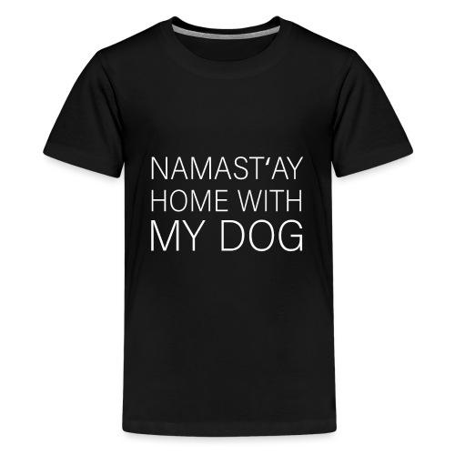 Lustiger Spruch Hundehalter Hundeliebhaber Hund - Teenager Premium T-Shirt