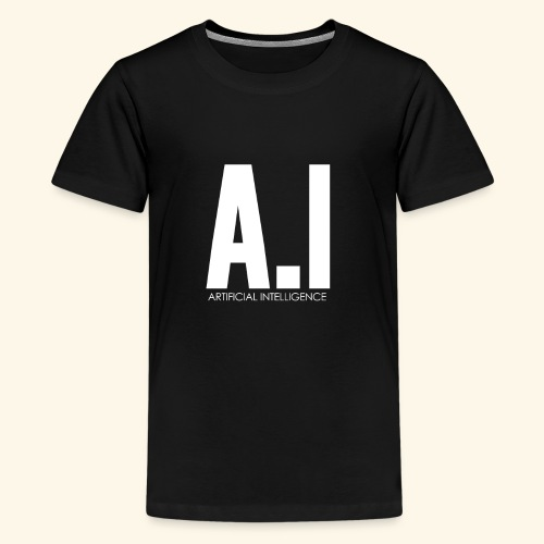 AI Artificial Intelligence Machine Learning - Maglietta Premium per ragazzi
