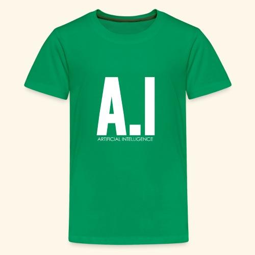 AI Artificial Intelligence Machine Learning - Maglietta Premium per ragazzi