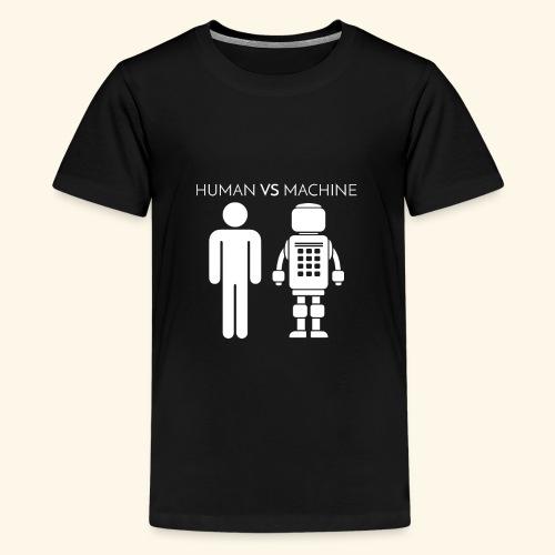 Human VS Machine - Maglietta Premium per ragazzi