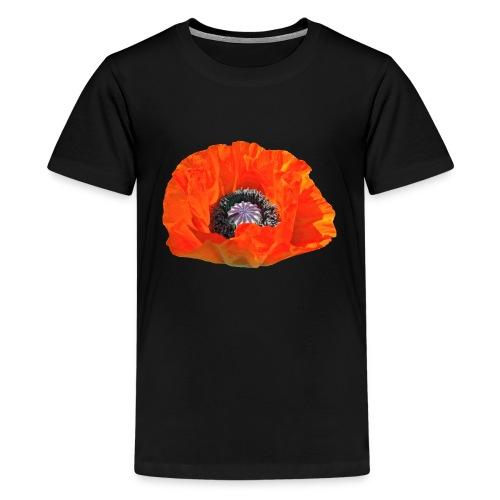 TIAN GREEN Garten - Mohnblüte 2019 - Teenager Premium T-Shirt