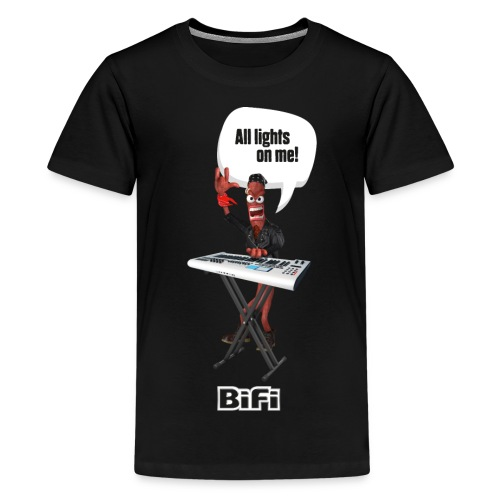 BiFI Keyboard auf Dunkel - Teenage Premium T-Shirt