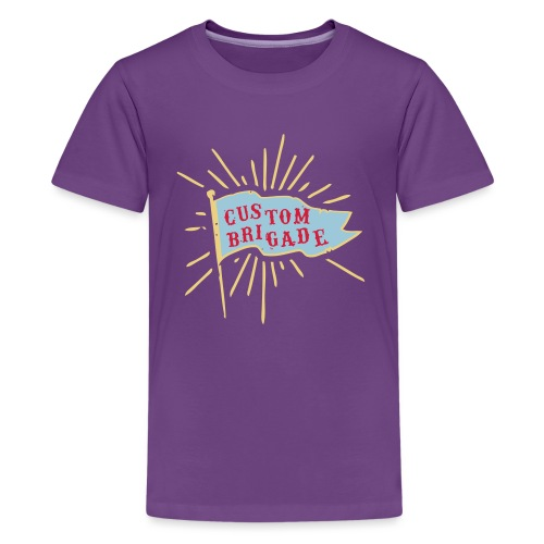 drapeau custom brigade - T-shirt Premium Ado