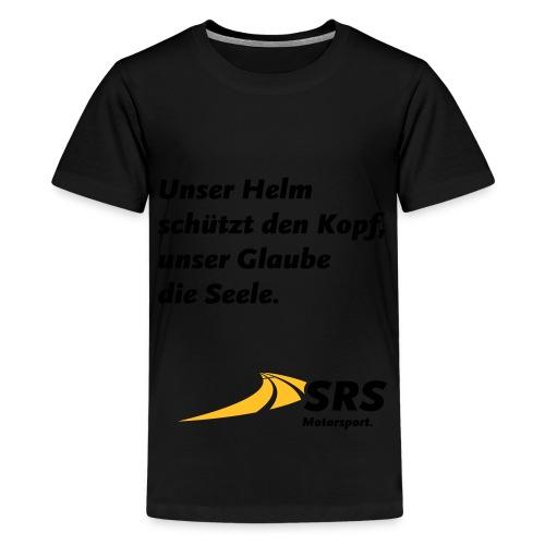 SRS-Logo_Motorsport_p_cmy - Teenager Premium T-Shirt