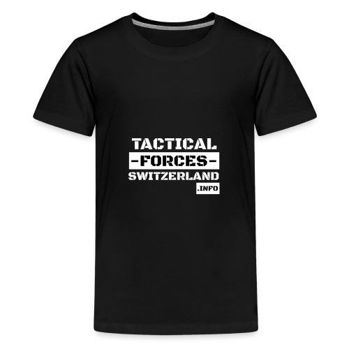 TFS Black and White stencil - T-shirt Premium Ado