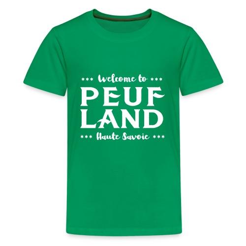 Peuf Land 74 - white - T-shirt Premium Ado