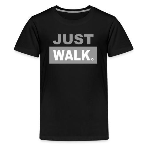 JUST WALK KIDS & TEENS grijs - Teenager Premium T-shirt