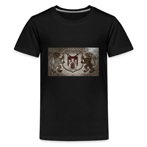 Schwertkampf Lüneburg Logo - Teenager Premium T-Shirt