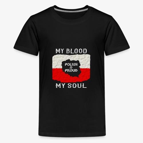 Pole und Stolz - Teenager Premium T-Shirt
