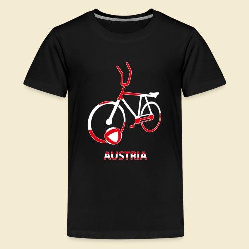 Radball | Austria Rad - Teenager Premium T-Shirt