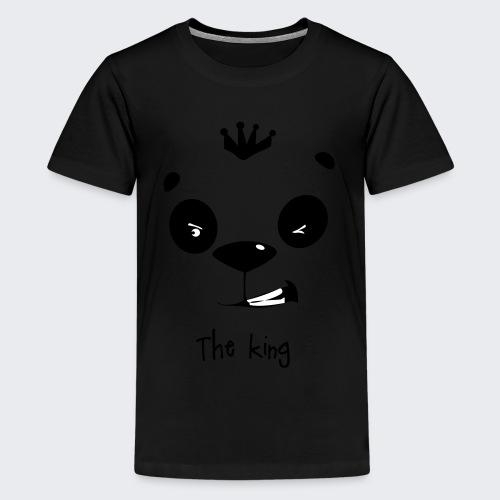 le roi des panda - T-shirt Premium Ado