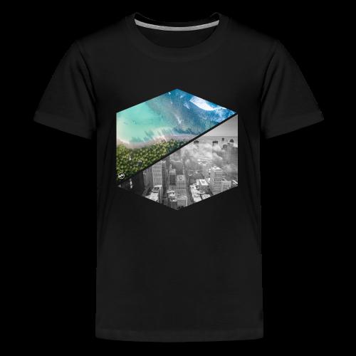 City vs Palm Beach - Teenager Premium T-Shirt