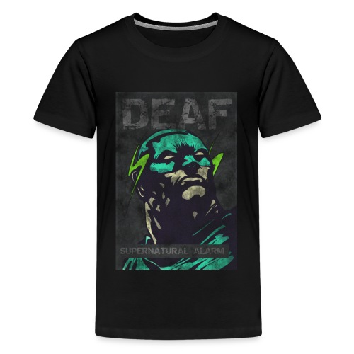 Deaf Supernatural Alarm Vintage - Teenager Premium T-Shirt