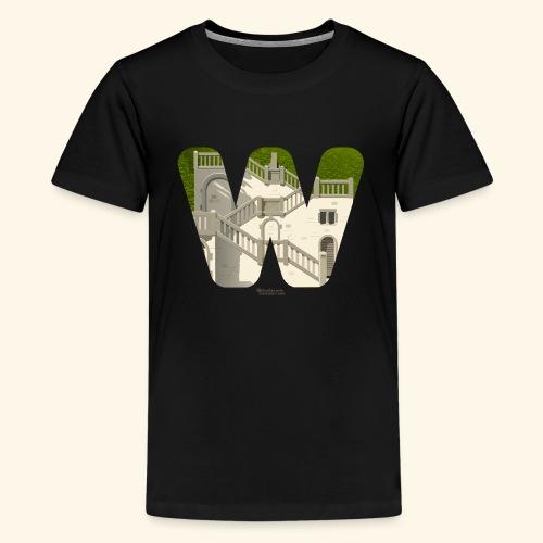 Wuppertal T-Shirt Vogelsauer Treppe - Teenager Premium T-Shirt