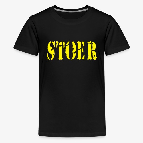 stoer tshirt design patjila - Teenage Premium T-Shirt