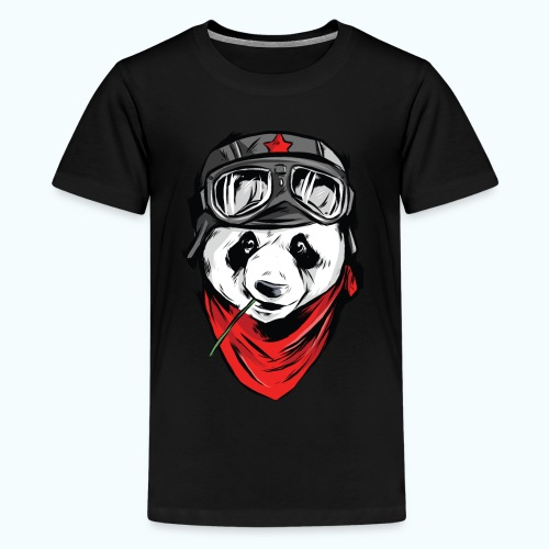 Panda pilot - Teenage Premium T-Shirt