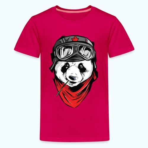 Panda pilot - Teenage Premium T-Shirt