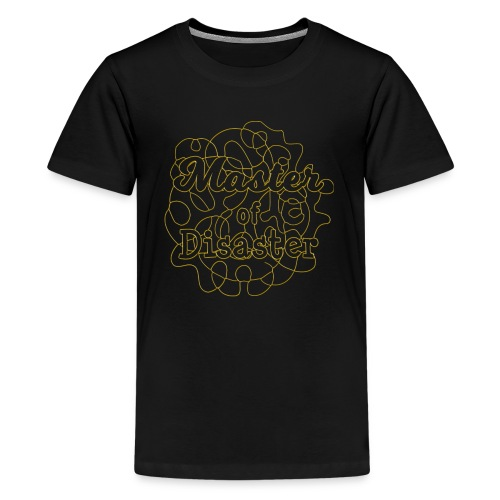Master of disaster - Teenager Premium T-Shirt