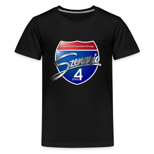 Steig4 - Szenario - Logo - Teenager Premium T-Shirt
