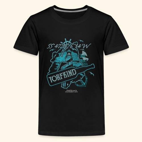 Torfkind Islay Design für Single Malt Whisky-Fans - Teenager Premium T-Shirt