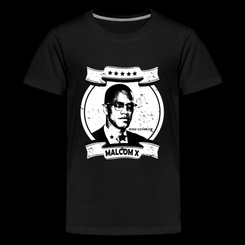 Malcom X Classic - Teenager Premium T-Shirt