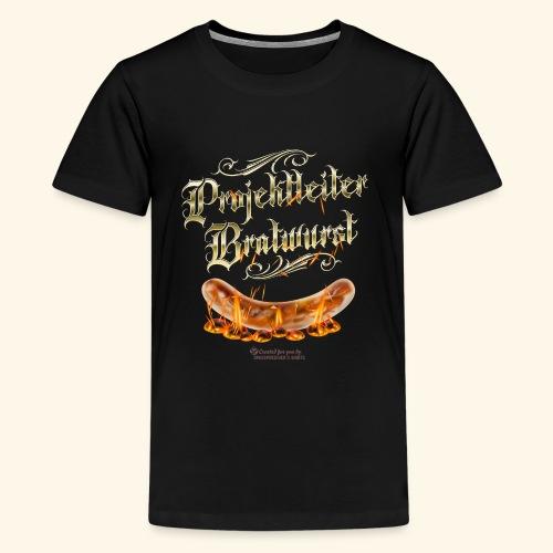 Projektleiter Bratwurst Spruch für Grillen & BBQ - Teenager Premium T-Shirt
