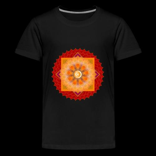 mandala 6 - Teenage Premium T-Shirt