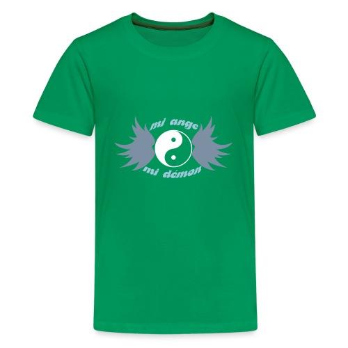Débardeur Bio Femme Mi ange Mi démon - Teenage Premium T-Shirt