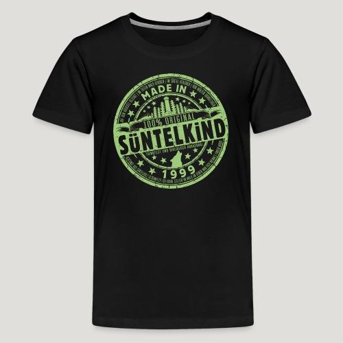 SÜNTELKIND 1999 - Das Süntel Shirt mit Süntelturm - Teenager Premium T-Shirt