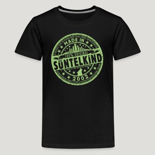 SÜNTELKIND 2002 - Das Süntel Shirt mit Süntelturm - Teenager Premium T-Shirt