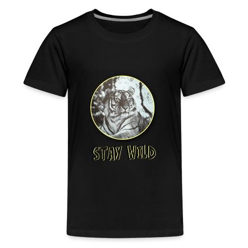 tiger5 - Teenager Premium T-Shirt
